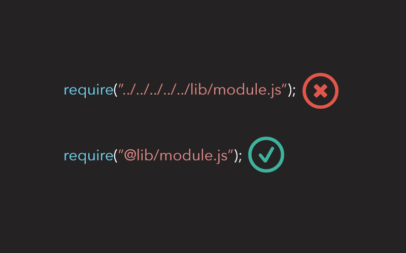 Aliasing module paths in Node JS | Arun Michael Dsouza